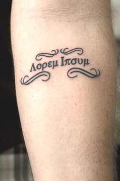 greek writing tattoo ideas designs and the meaning busbones