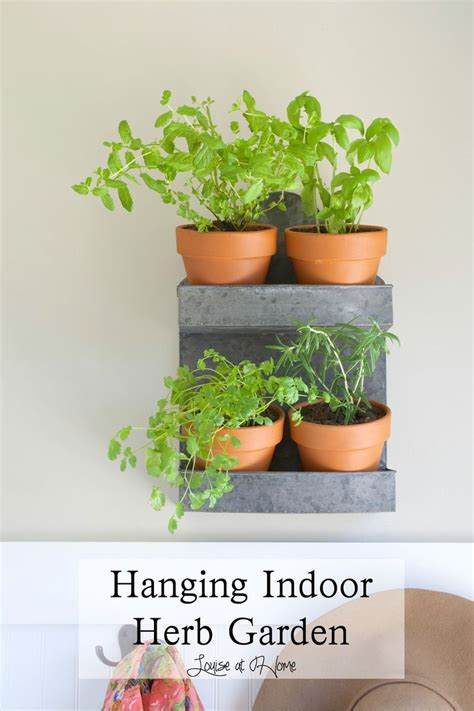 indoor hanging herb garden 17 best images about container gardening on gardens planters and buckets