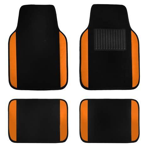 4pcs Set Universal Fit Car Vinyl Heel Pad Carpet Floor