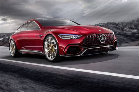 mercedes concept cars mercedes amg gt concept a cross town rival to the porsche