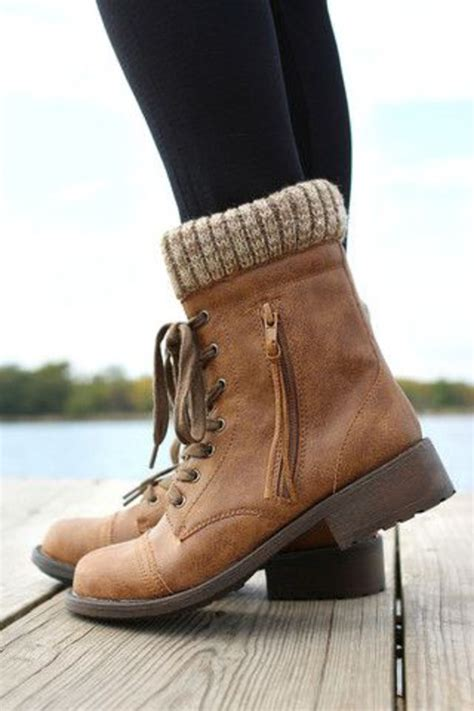 pretty boots qupid relax 120 taupe sweater cuff ankle boots