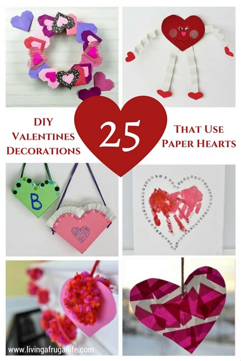 diy valentines decorations easy diy valentine decorations that use paper hearts