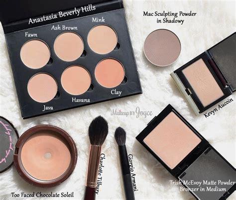 matte contour makeupbyjoyce swatches comparisons matte