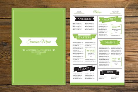 menu template indesign how to create a tasty trendy menu card in adobe indesign