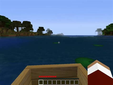 how to make a speed boat in minecraft pe how to make a boat in minecraft 6 steps with pictures