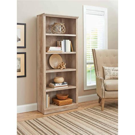 Better Homes And Gardens Office Furniture Bookcases Office Furniture Walmart Better Homes And Gardens Crossmill 5 Shelf Bookcase