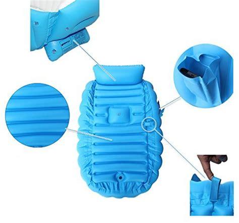 travel bathtub for toddler baby inflatable bathtub flymei portable infant toddler