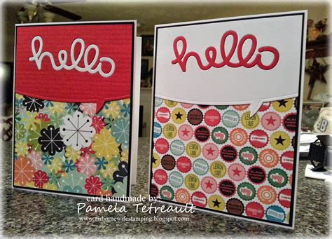 I Have A Borders Gift Card - airbornewife s sting spot speech bubble border quot hello quot cards