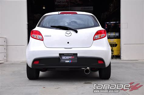 mazda 2 usa tanabe usa r d mazda2 medalion touring exhaust