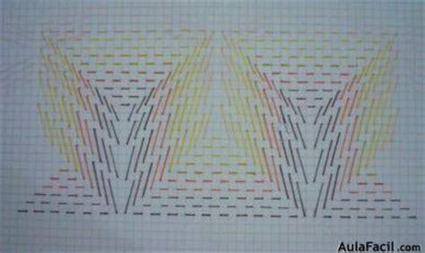 cenefas bordadas curso gratis de bordado en punto de llama cenefas