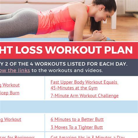 a weight loss workout plan beginner s weight loss workout plan calendar