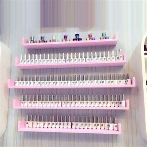 Nail Wall Shelf by Popular Cosmetic Display Shelf Buy Cheap Cosmetic Display