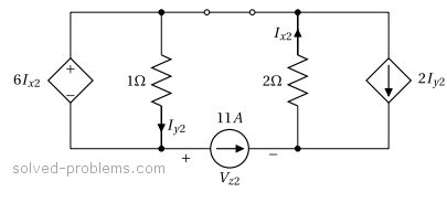 resistor superposition circuits problem superposition method circuit with dependent sources solved problems