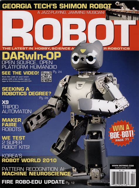 robot magazine march april 2011 jamiepricecreative