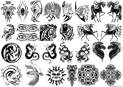 tribal tattoos symbols 25 strength symbol tattoos ideas and designs