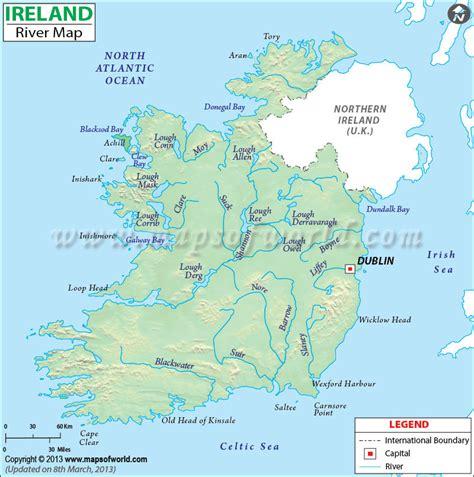 ireland river map