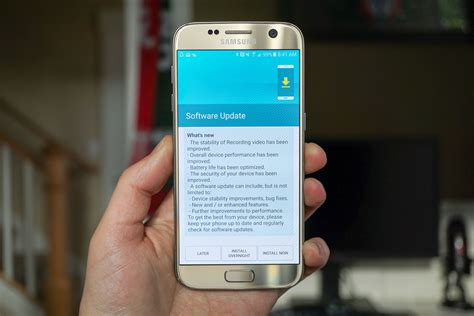 Update Samsung S7 Edge t mobile galaxy s7 and s7 edge get big updates today