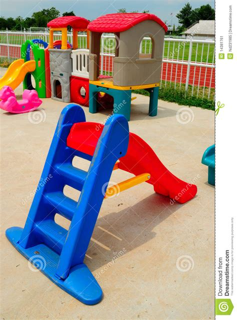 outdoor toys for children stock image image of children