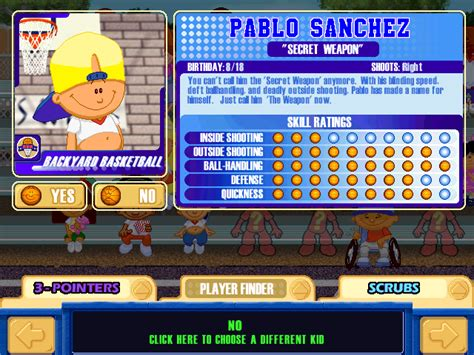 pablo sanchez backyard sports backyard baseball pablo sanchez 28 images backyard