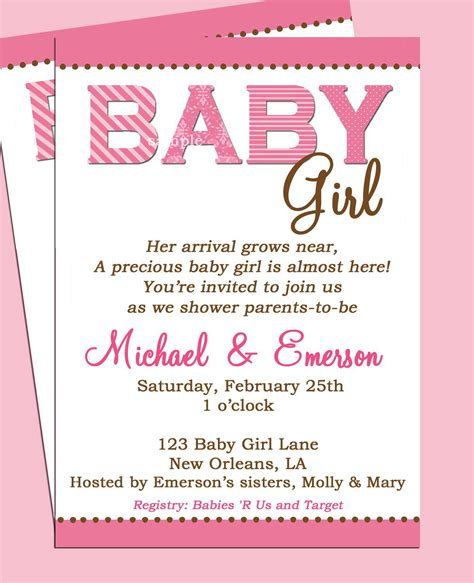 Baby Shower Invitations Walmart by Baby Shower Invitation Baby Shower Invitations