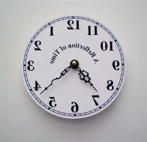 time flies reflections of reflection of time clock 171 обратные 187 часы mobword ru