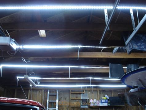Led Lights For A Garage by Garage With Strips
