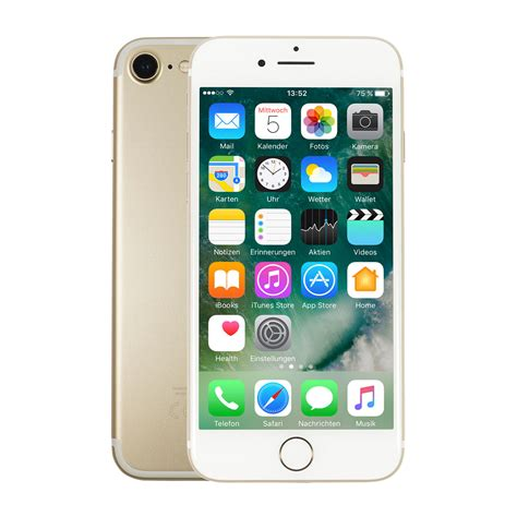 7 iphones ranked apple iphone 7 128gb gold bei notebooksbilliger de
