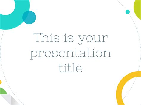 free slides templates playful free presentation templates