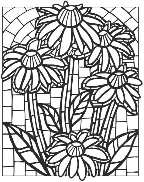 creative haven floral mosaics coloring book welcome to
