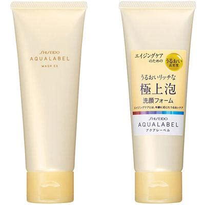 Wash Shiseido green tea shiseido aqualabel wash ex recenzja sk蛯ad