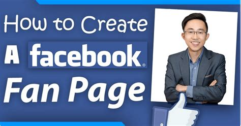 how to create a facebook fan page how to create facebook fan page benjamin pang