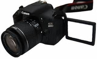 Kamera Canon Dslr Tahun harga kamera canoneos 600d terbaru dan spesifikasi lengkapnya