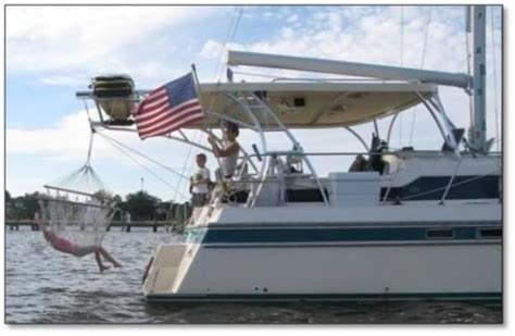 island packet catamaran 1994 island packet cat 35 boats yachts for sale
