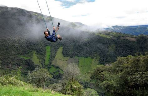 swing in ecuador the swing at the end of the world
