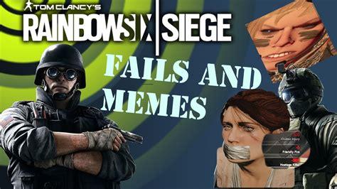 Six Meme - rainbow six siege memes and fails funny moments