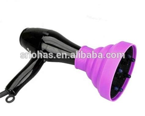 Folding Hair Dryer Diffuser foldable wholesale hair dryer folding silicone rubber