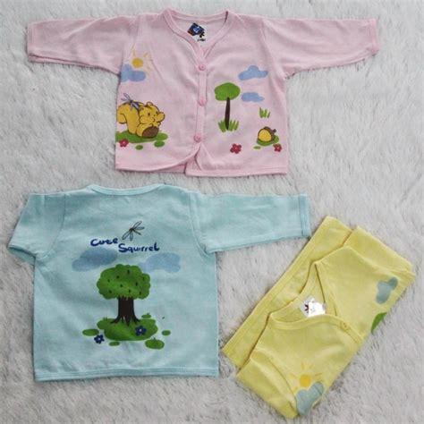 Baju Bayi 1 Lusin 1 Lusin Model Atasan Warna Lengan Panjang Bpw1 Grosir