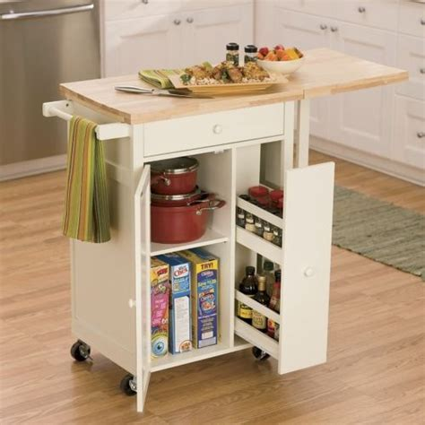 Spice Cart Kitchen Cart With Spice Rack Kitchen