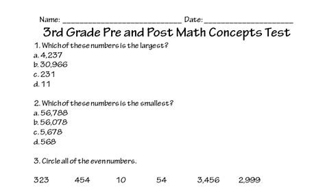 concepts of pattern grading 2nd edition pdf 3rd grade math concepts test printable worksheet with