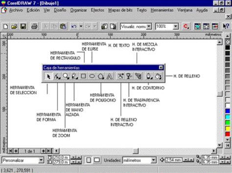 barra de herramientas superior illustrator corel funciones corel draw