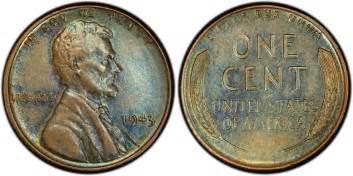 1943 1c bronze bn regular strike pcgs coinfacts