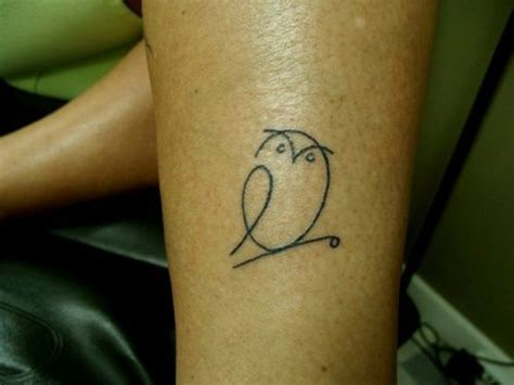 owl outline tattoo simple owl outline my fictional closet