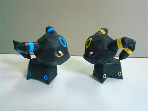 Umbreon Papercraft - espeon papercraft template images images