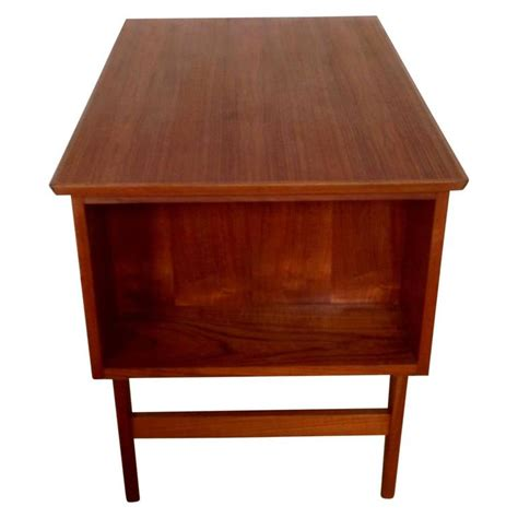 Mid Century Small Danish Teak Desk For Sale At 1stdibs Small Mid Century Desk