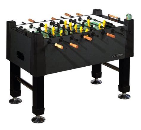 carrom foosball table buy cheap carrom 515 00 signature foosball table black