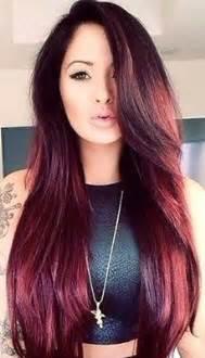 cherry black hair color 1000 ideas about black cherry hair on