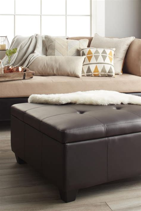 overstock living room tips on coordinating an ottoman with your living room