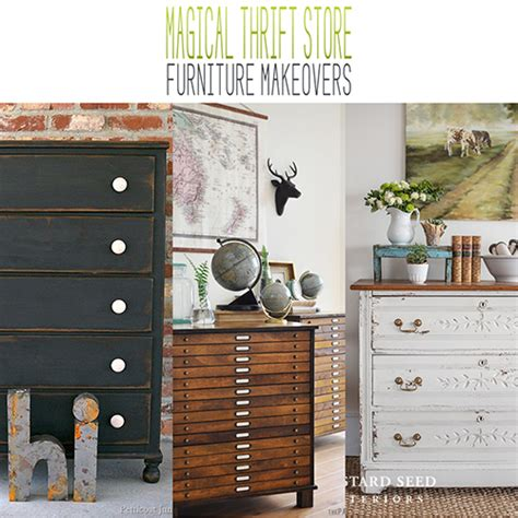 Stock Furniture by Magical Thrift Store Furniture Makeovers The Cottage Market