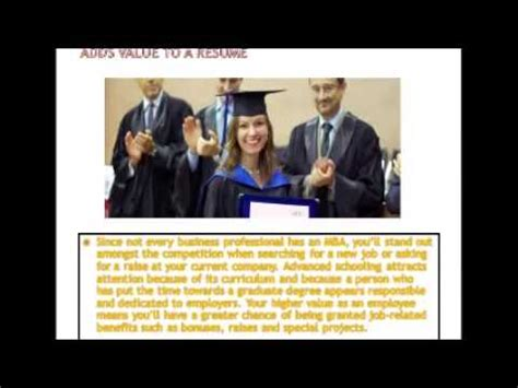 Why You Should Get An Mba by Reasons Why You Should Get An Mba