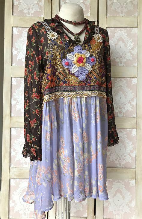 Boho Tribal Tunic Dress boho ethnic tribal tunic dress top unique mixed patterns